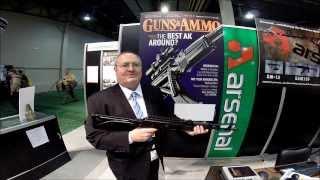 Shot Show 2014 Aresenal SAM7 SF AK  Milled Sidefolder 7 62x39
