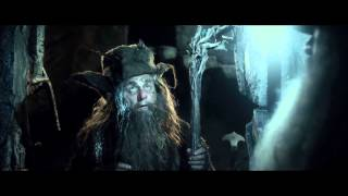 Gandalf and Radagast in Nazgul's grave [HD]