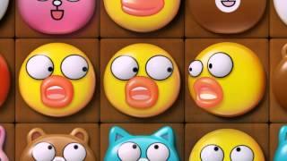 LINE POP - Brown's Cookies - Promotion Video (Indonesia)