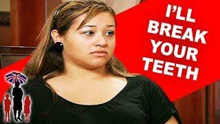 Supernanny | Mom Threatens Kids With Broken Teeth & The Police!