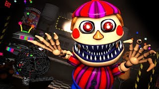 [SFM/FNAF] 6 Ultimate Custom Night Nightmare Balloon  Boy Jumpscare