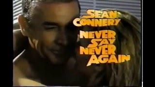 Never Say Never Again | Official TV SPOT | 1983 | Sean Connery as James Bond 007