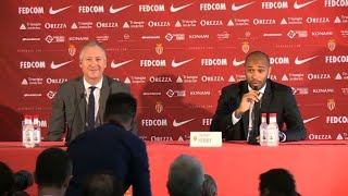 """AS Monaco job is """"A dream come true"""" for Thierry Henry"""