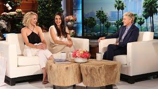 Kristen Bell and Mila Kunis Talk Kids