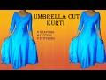 Download Video Umbrella cut designer Kurti drafting, cutting and stitching ( PRAGYA STYLE) 3GP MP4 FLV