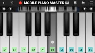 Dheere Dheere Se Meri Zindagi Me Piano|Piano Keyboard|Piano Lessons|Piano Music|learn piano Online