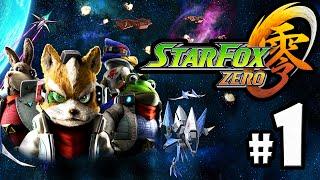 Star Fox Zero Gameplay Walkthrough PART 1 - Corneria + Opening Story Intro Nintendo Wii U HD 60fps