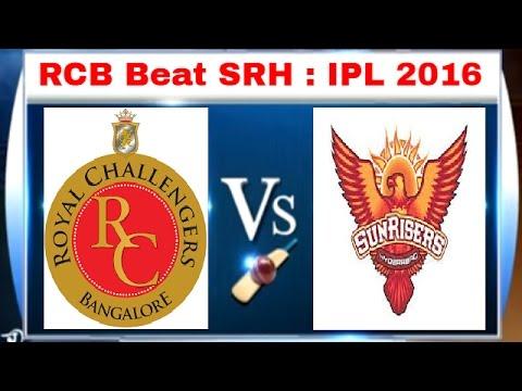 RCB vs SRH, IPL 2016: Kohli, De Villiers Star in RCB's 45-Run Win over Hyderabad