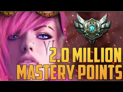 SILVER VI 2,000,000 MASTERY POINTS- Spectate Highest Mastery Points on Vi
