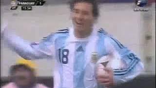 QWC 2010 Argentina vs. Paraguay 1-1 (06.09.2008)