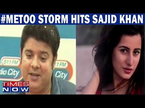 Xxx Mp4 MeToo Jolts India Sajid Khan Accused Of Sexual Harassment By Actress Saloni Chopra Rachel White 3gp Sex