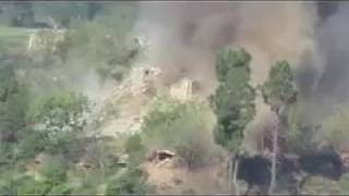 Indian Army destroying Pakistani bunkers at LOC May 2017