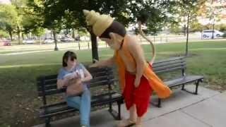 Hanuman in Washington DC by ISKCON of DC, Potomac, Maryland, USA
