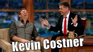 """Kevin Costner - """"Sean Connery Is The Biggest Star..."""" - Only Appearance"""