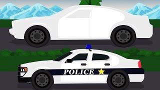 Mobil polisi | mobil untuk anak-anak | Anak-anak belajar Video | Videos For Children | Police Car