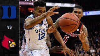 Duke vs. Louisville Basketball Highlights (2018-19)