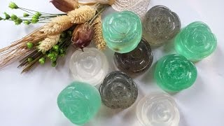 How To Make Wonderful Soaps With Glycerin Only - DIY Beauty Tutorial - Guidecentral