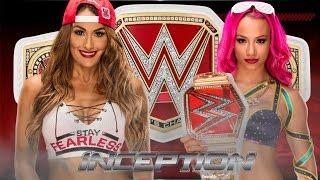 Nikki Bella vs Sasha Banks for Championship
