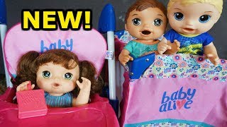BABY ALIVE NEW Doll Up And Down High Chair For Oakley!
