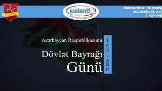 dövlət bayrağı günü iceland sirketinin təbriki