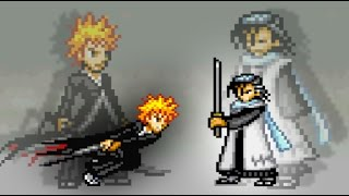 (Bankai) Ichigo Vs Byakuya   Bleach Vs Naruto 2.6