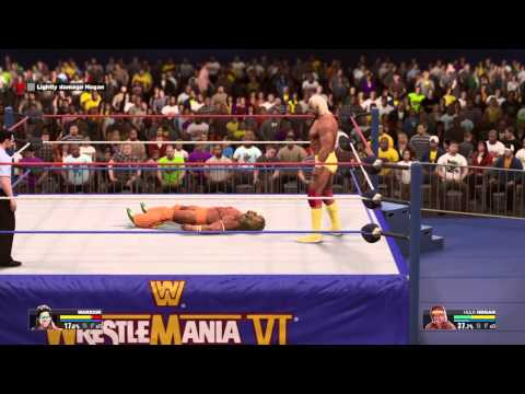 WWE 2K15 Ultimate Warrior vs. Hulk Hogan