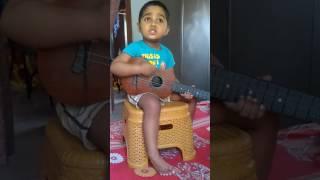 Mon amar tor kinare by Ainik @2.5 years age.