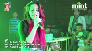 Atat -Ron Henley ft. Bea Valera (live performance at MINT Acquaintance Party)