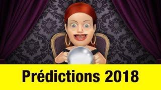 Les prédictions 2018 - Têtes à claques