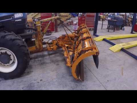 Cheap Ford Tractor snow plow front mount