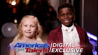 Elimination Interview: Artyon & Paige Thank America For Their Support - America