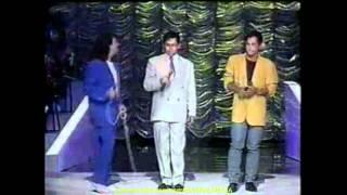 ROBERTO CARLOS & LEANDRO & LEONARDO - A DISTANCIA 1993 - HD