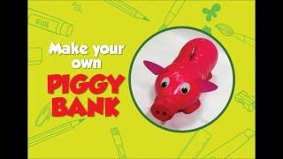 How To Make A Piggy Bank | DIY art & craft videos for kids from SMART