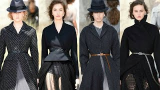 Christian Dior Couture Runway Collection Fall Winter 2017 | Paris Haute Couture Fashion Week