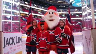 Skating with the Montreal Canadiens