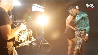 ( Behind The Scene 4) DIAMOND PLATNUMZ ft OMARION - African Beauty