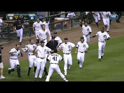 Cabrera crushes a walk off homer to end it