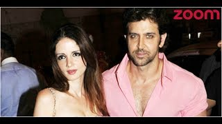 Sussanne Avoids Question On Getting Back With Hrithik | Bollywood News
