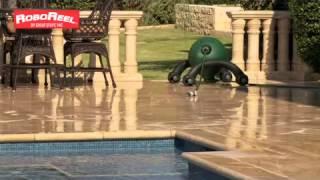 RoboReel Water Hose Reel Operates Unattended