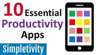 10 Productivity Apps I Can