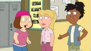Family Guy - Meg decides to be lesbian.