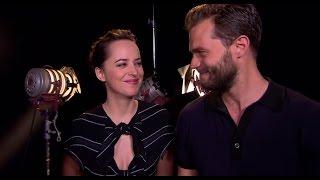 Fifty Shades Darker Dakota Johnson & Jamie Dornan Interview for Red TV