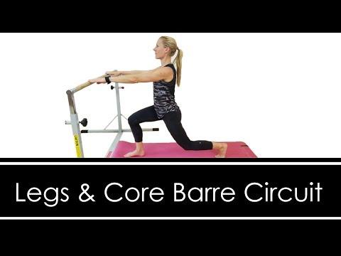 LEGS & CORE :  BARRE CIRCUIT  WORKOUT
