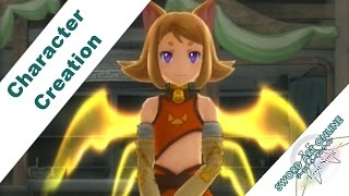 Sword Art Online: Lost Song PS3 / PS VITA Character Customization / Creation Options