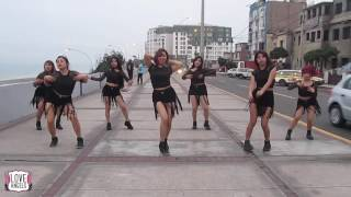 AOA (에이오에이) / Love Angels Perú - Good Luck (굿럭) Oficial Dance, Practice 2