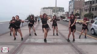 AOA (에이오에이) / Love Angels Perú - Good Luck (굿럭) Oficial Dance, Practice 2