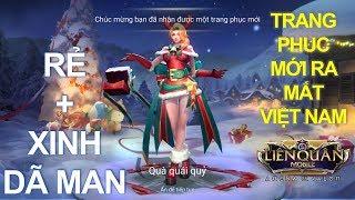 Trang phục mới ra mắt Việt Nam: NATALYA Cô gái Noel Hộp quà quái quỷ vừa rẻ vừa đẹp [ Mua và Test ]