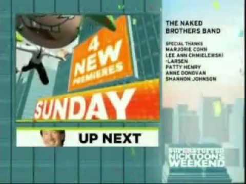 Nickelodeon Split Screen Credits November 27 2008