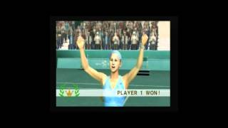 Namco's Smash Court Tennis 2 and a chatter
