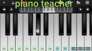 Hua Ha aaj pahli bar. হুয়া হে আজ পেহলি বার। piano tone by piano teacher m saymon.